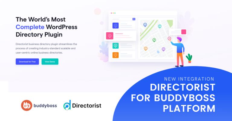directorist integration buddyboss platform